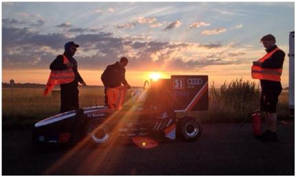 Racing Car nb015 - TUfast Racing Team  (©TUfast)